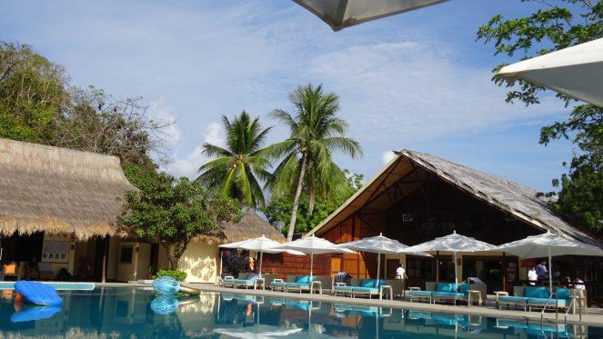 Club Paradise Palawan - Pool area