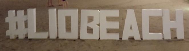 #liobeach sign
