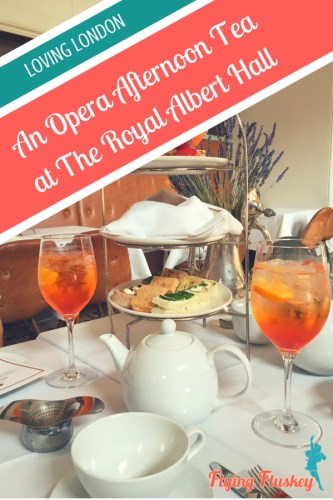 Join Flying Fluskey for an Opera Afternoon Tea at the Royal Albert Hall in London. Little sandwiches, cute cakes and tasty scones, all accompanied by the finest opera performers. Is there anything more fabulous than this? #operaafternoontea #afternoontea #london #londonuk #afternoontealondon #royalalberthall #theroyalalberthall