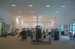 gym equipment at Kihaa Maldives