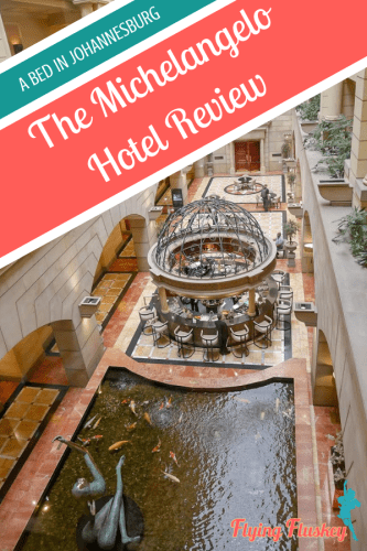 "The Michelangelo is known as, ""The Grand Dame of Johannesburg"" and we couldn't wait to check it out. If you need a bed in Johannesburg, check out our review. #johannesburg #accommodationreview #hotelreview #michelangelohotel"