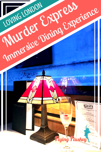 Funicular Productions's immersive dining experience Murder Express was so much fun. An engaging murder mystery performance, a fine dining menu and a wonderful attention to detail all added up to great night out.. #murdermysterydinner #murderexpress #funicularproductions #londonfoodie #immersivedining