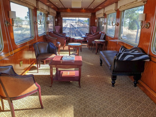 The Observation Car on The Blue Train