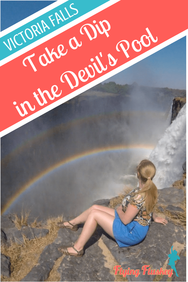 If you're visiting Victoria Falls and you're after a unique and utterly memorable tour, take a dip in the Devil's Pool, Victoria Falls.