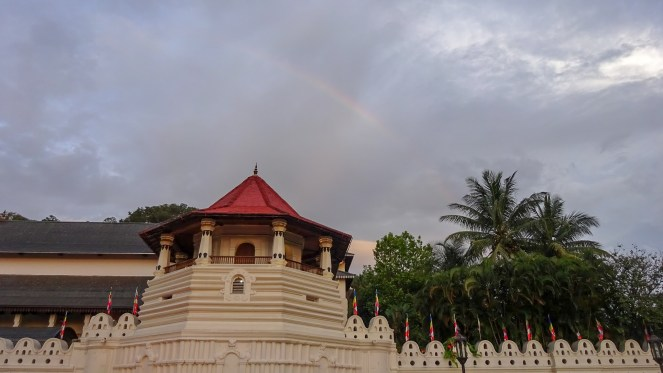 Sri Dalada Maligawa Buddhist Temple of the Tooth, Kandy, Sri Lanka
