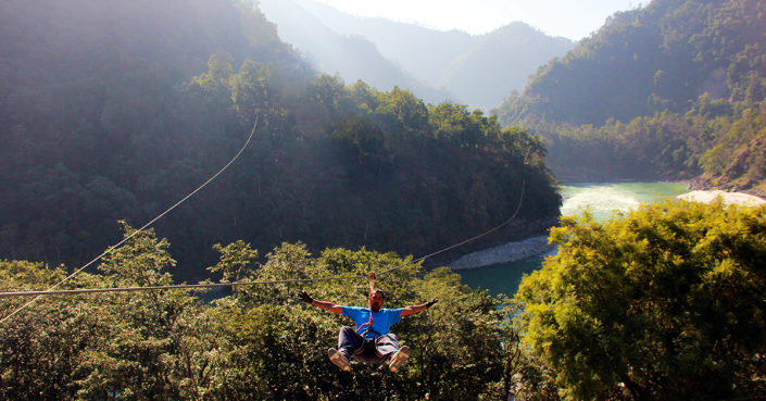 Flying Fox Rishikesh, things to do in rishikesh, ziplining in rishikesh, flying fox, adventure activities in rishikesh, shivpuri, must visit in rishikesh