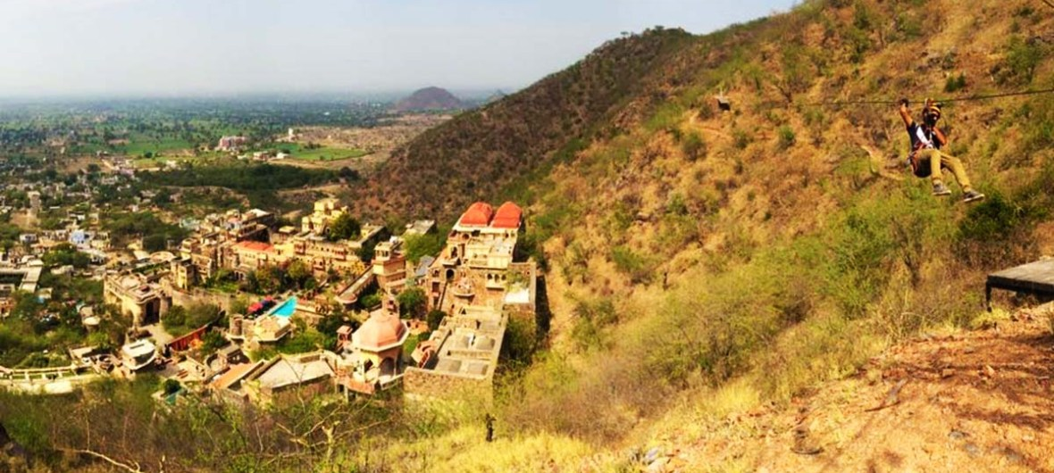 Ziplining in Neemrana, Things to do in Neemrana, Zip Tour Neemrana