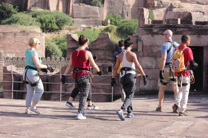 Flying Fox Jodhpur, Mehrangarh Fort, flying fox, ziplining, zipline tour, ziplines, adventure activities in india, adventure sports, outdoor sports