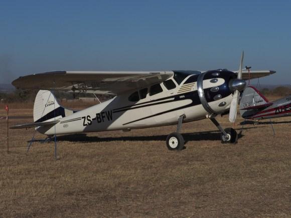 Cessna C195 Businessliner ZS-BFW