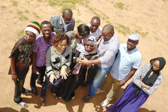 2020 Humanitarian Team Award winner Kenya Flying Labs