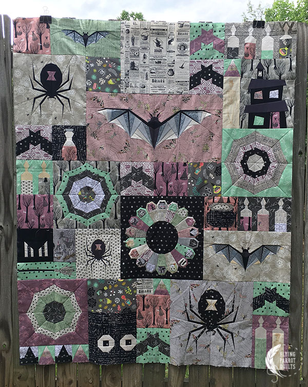 Halloween Quilt : halloween, quilt, Welcome, Halloween, Quilt-Along,, Flying, Parrot, Quilts
