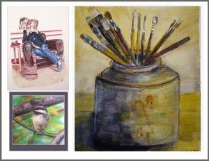 Art Coaching image with border
