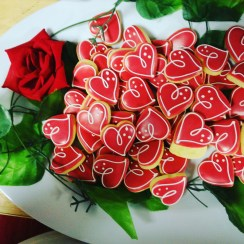 Valentines Day cookies <3