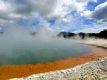 Wai-O-Tapu, Rotorua, New Zealand. Champagne Pool