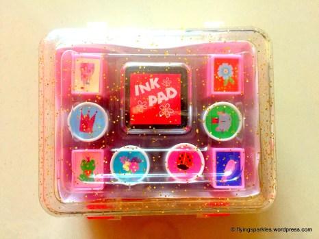 My new Princess themed Stamping kit!
