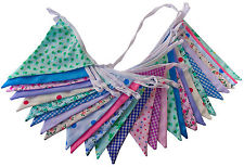 Floral Mix Bunting Single or Double Sided