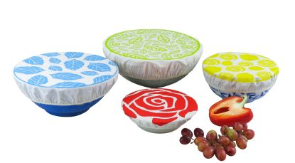 Eco Friendly Printed Bowl Covers Plastic Free Living Food Storage Solution