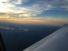 Mark Twain Lake as We Depart Kansas