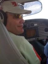 Dad, flying to Albuquerque