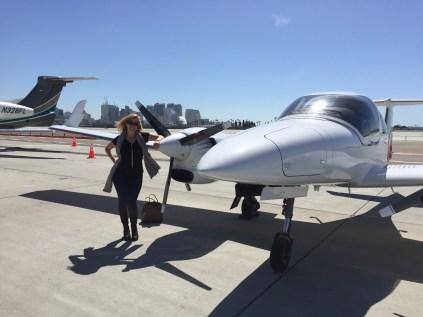 First passenger, Kimberly B.