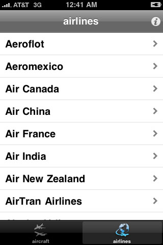 iPhone App of the Week : Aircraft Recognition Guide