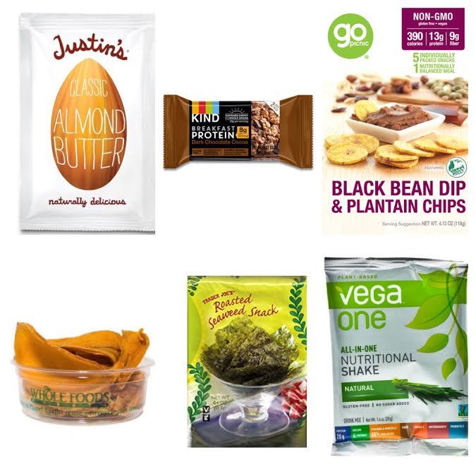 Healthy Vegan Travel Snacks