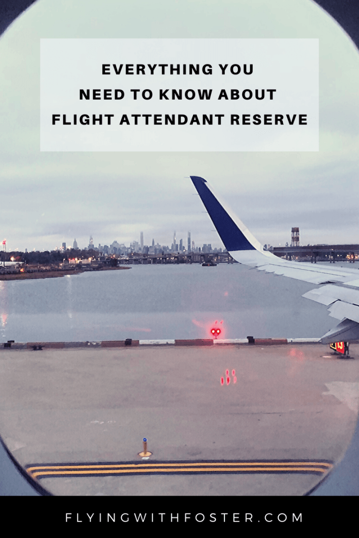 Everything You Need to Know About Flight Attendant Reserve