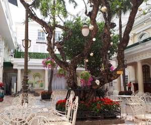 コンチネンタルサイゴン中庭
