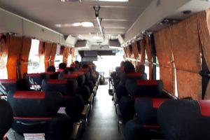リムジンバスのシート