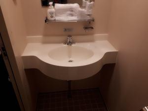 室内の洗面所
