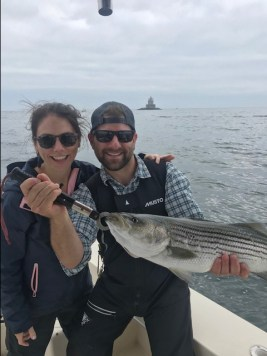 fly fishing charters long island sound