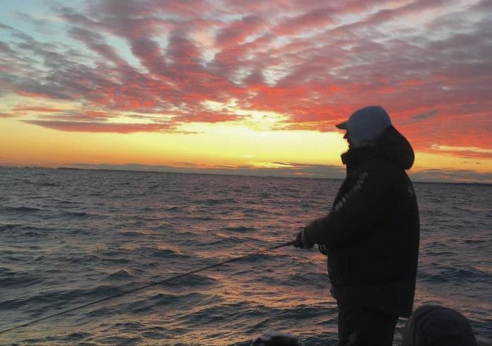 Fly Fishing Sunset