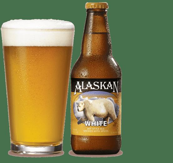 best beer to take fishing alaskan white