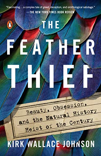 "The cover of ""The Feather Thief"""