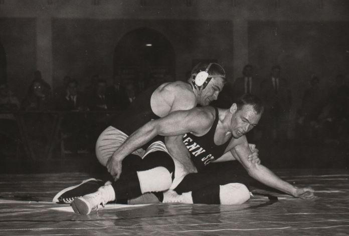 Joe wrestling
