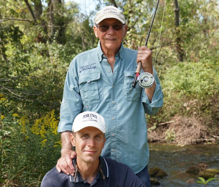 George Daniel Joe Humpherys Penn State Fly Fishing
