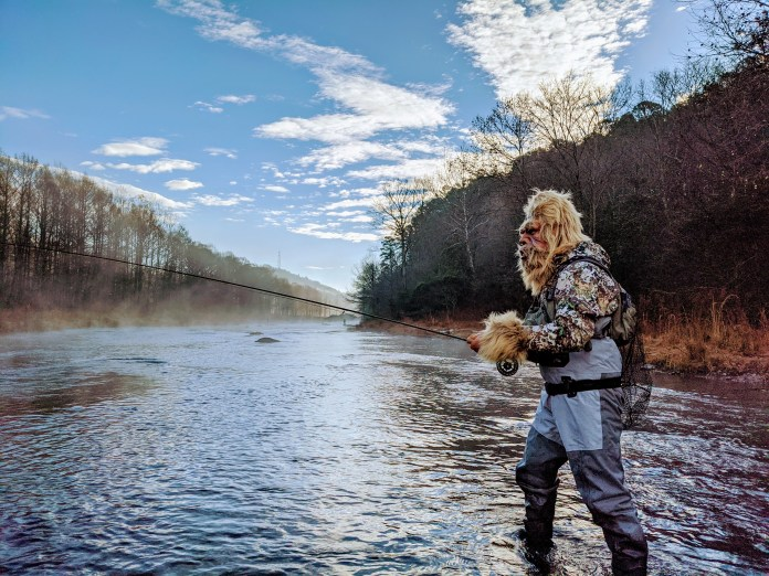 Sasquatch Sighting: Lower Mountain Fork River in Oklahoma ...