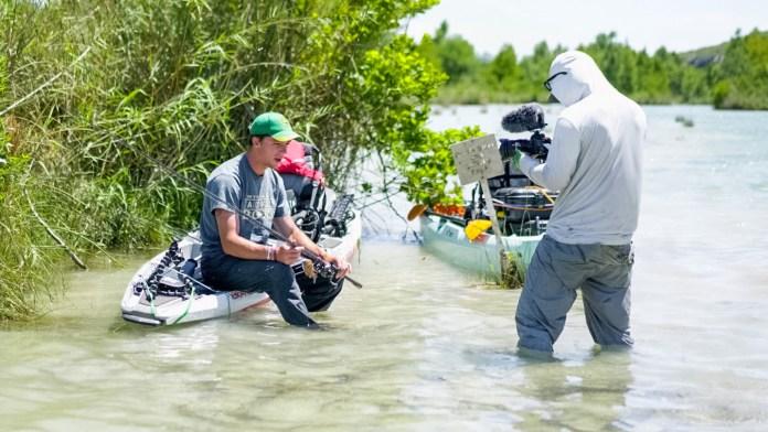 Filming with Jon B.