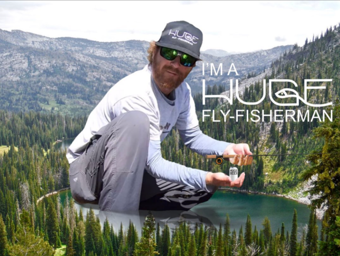 Im a huge fly fisherman poster