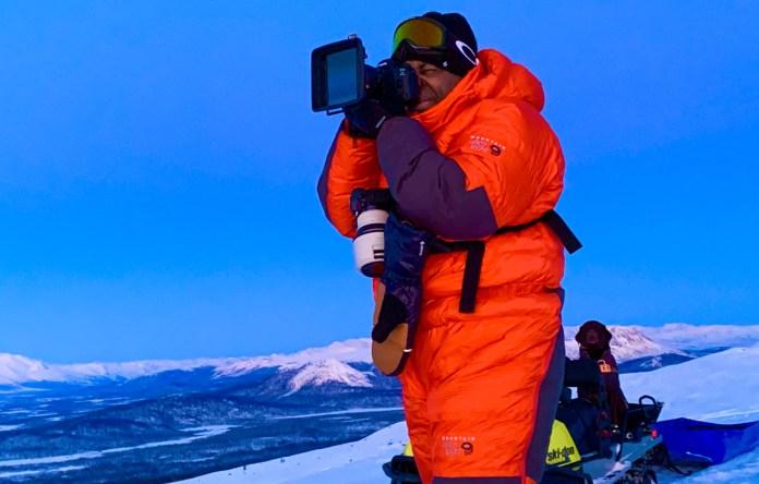 Chad Brown Arctic Shoot