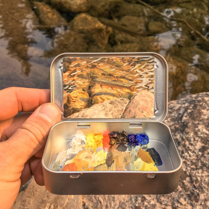 Remington Robinson brook trout