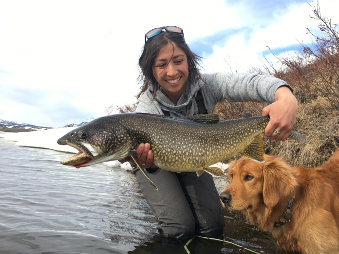 Oliver Ancans Lake Trout on the Fly