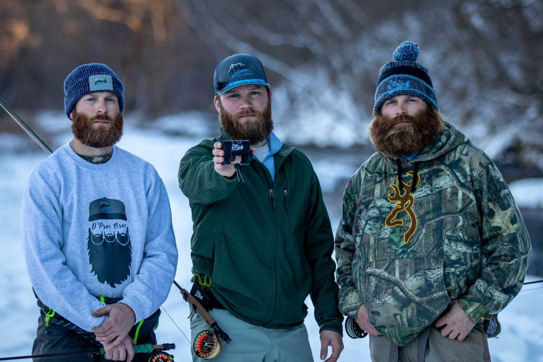 The O'Pros bearded brothers (Mike, David, and Aaron