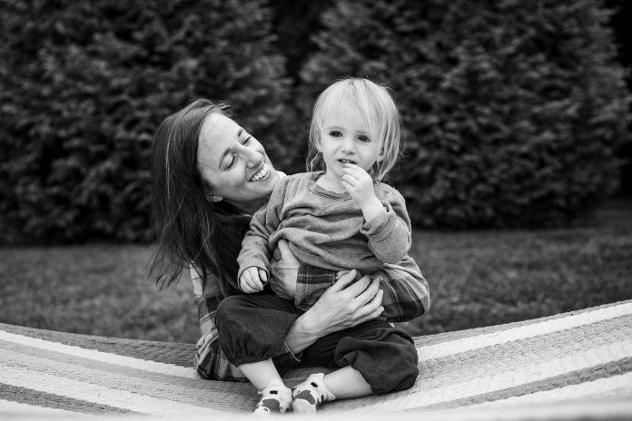 katie and her daughter