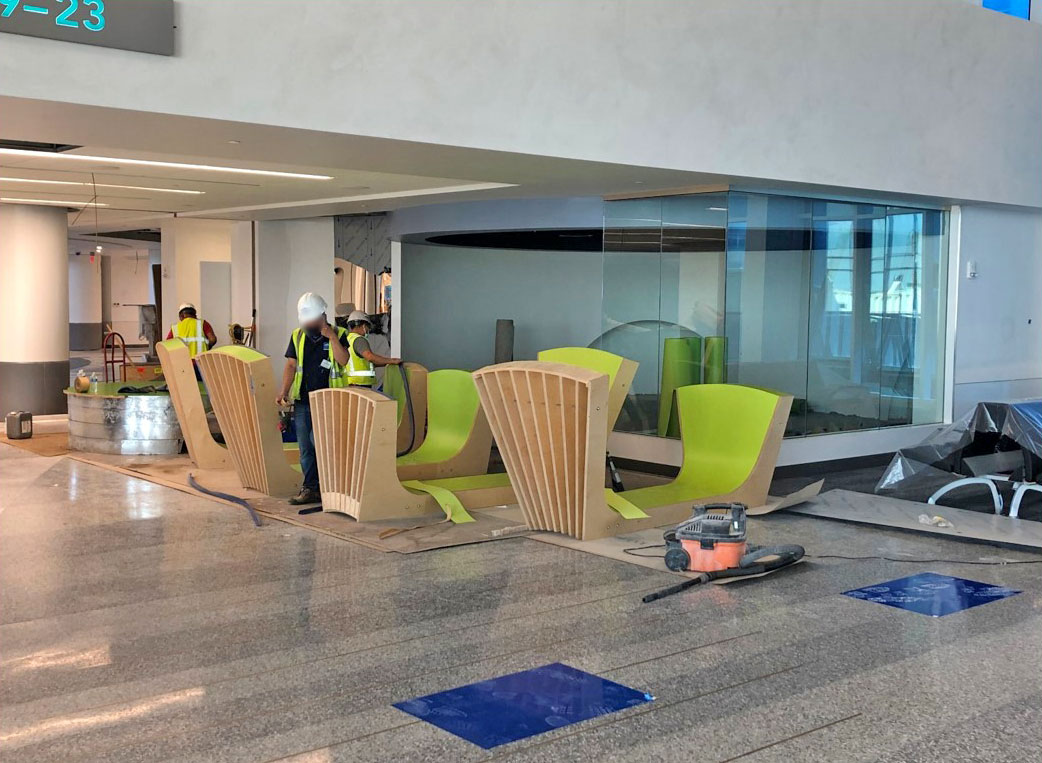 April 2021 Concourse Modernization - Children's Play Area