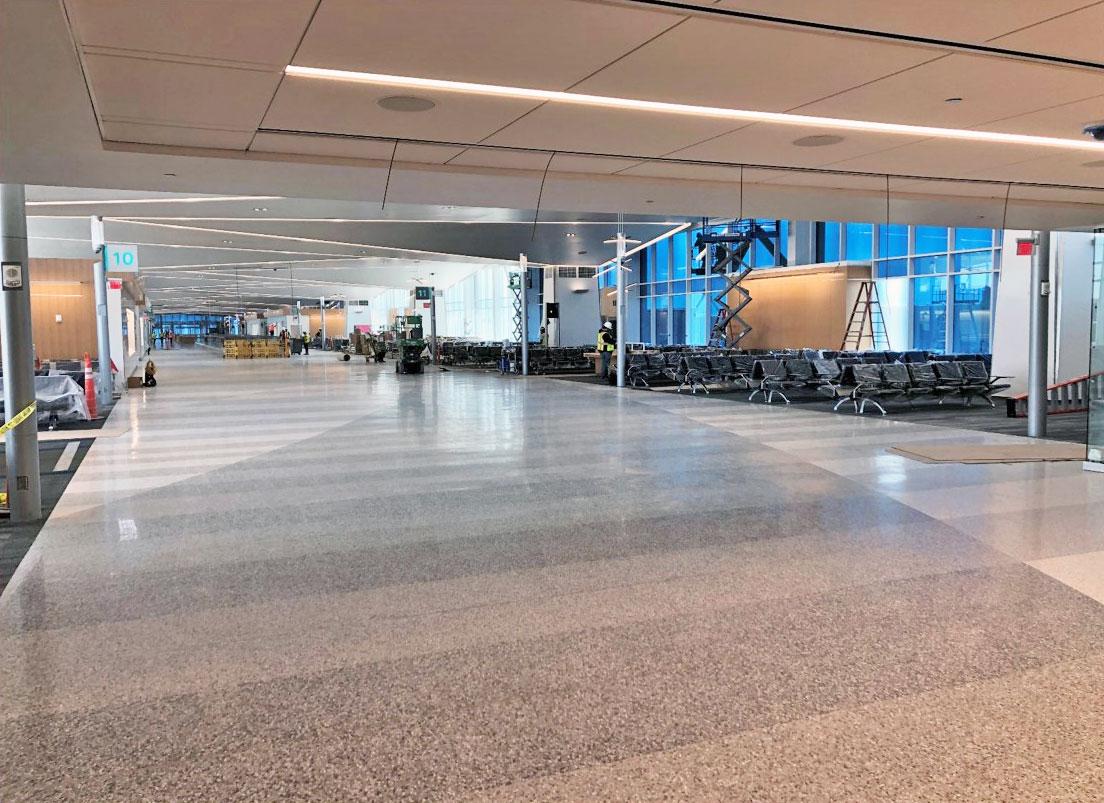 April 2021 Concourse Modernization