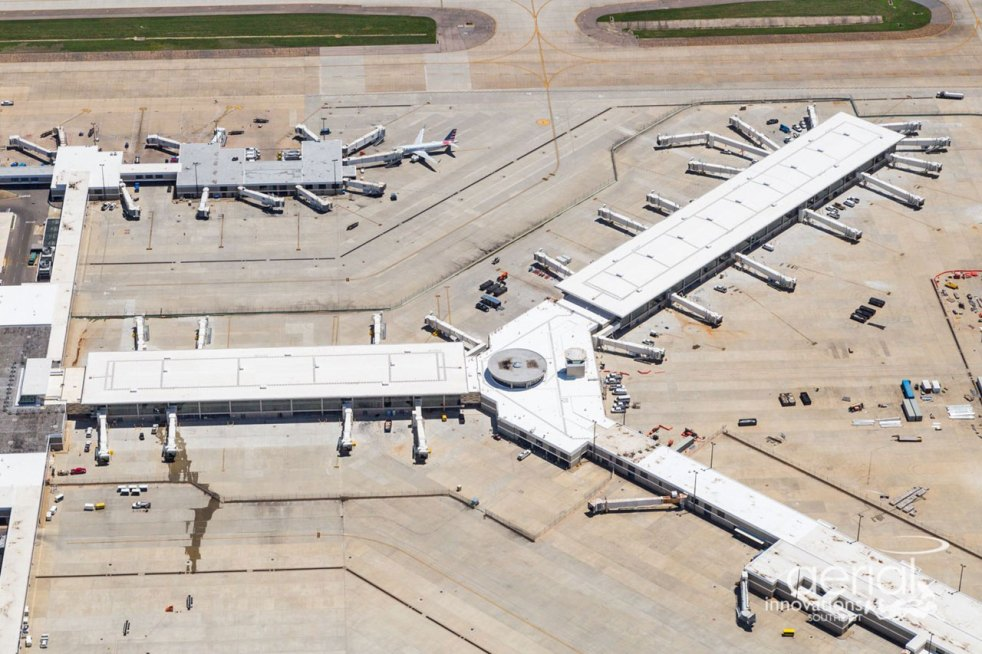 May 2021 B Concourse Aerial