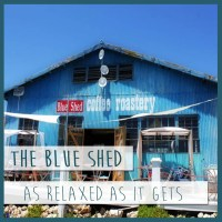 Mossel Bay Restaurant blue shed