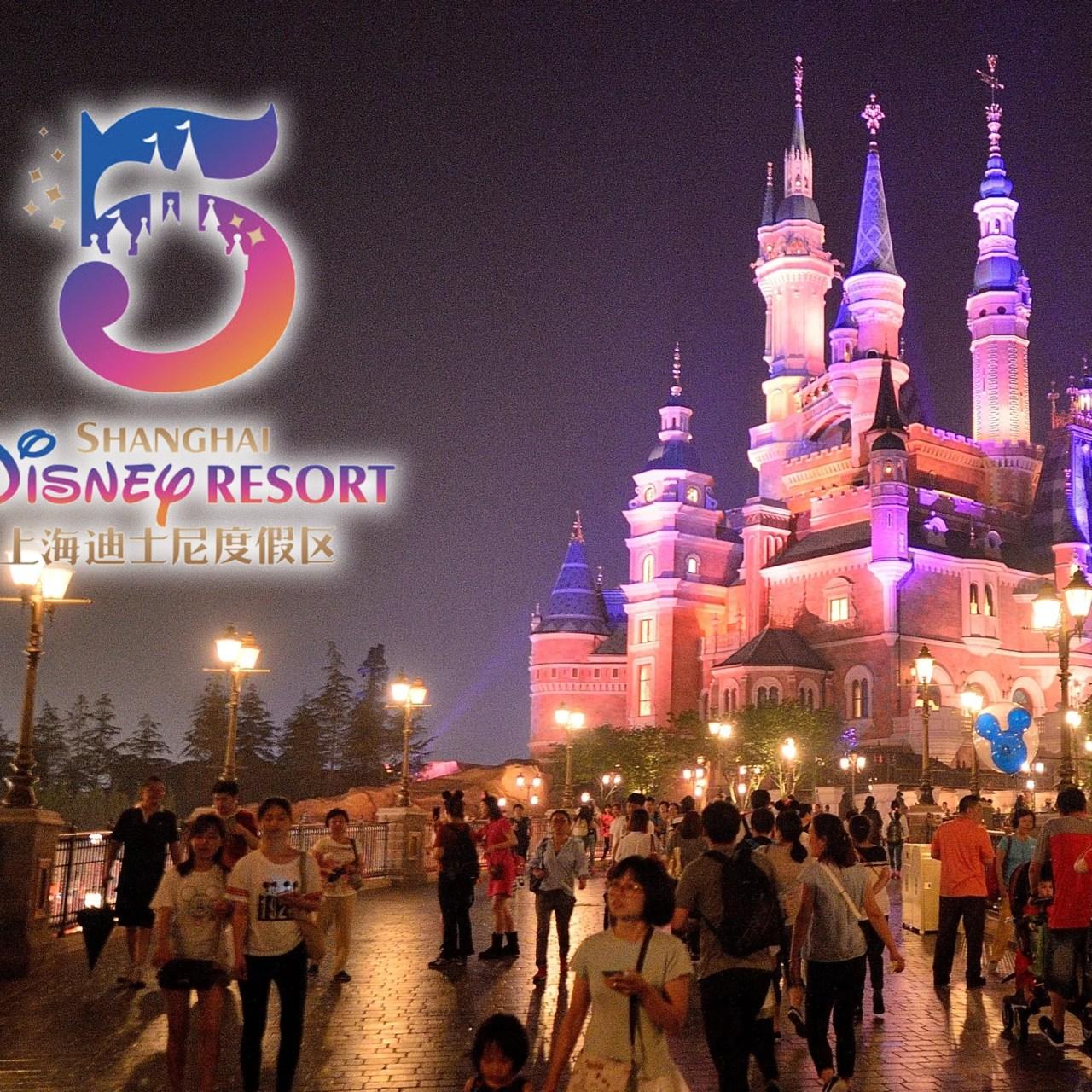 Shanghai Disneyland th Anniversary