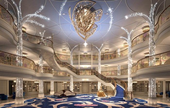 Disney Wish Grand Hall scaled